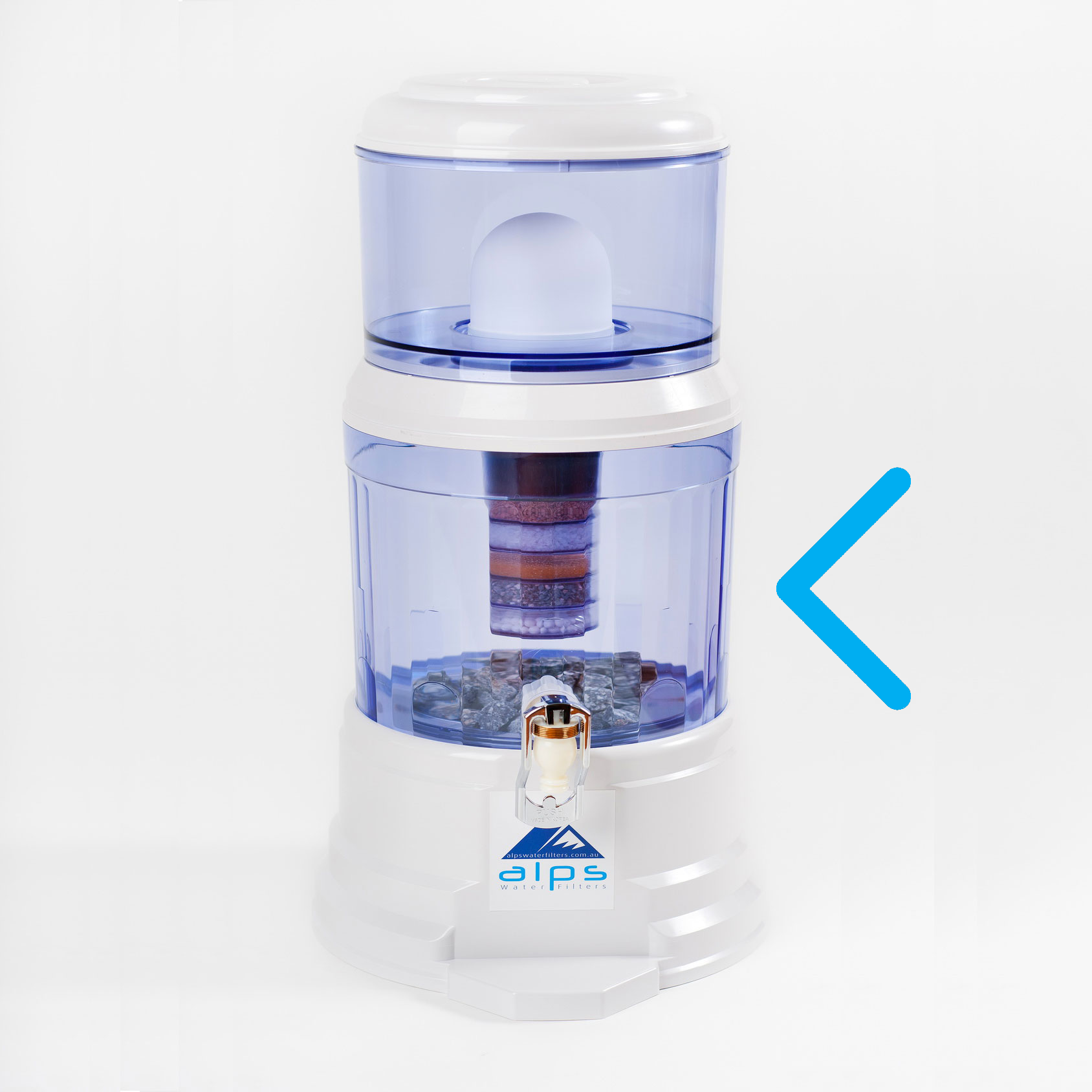 alps water filter instructions